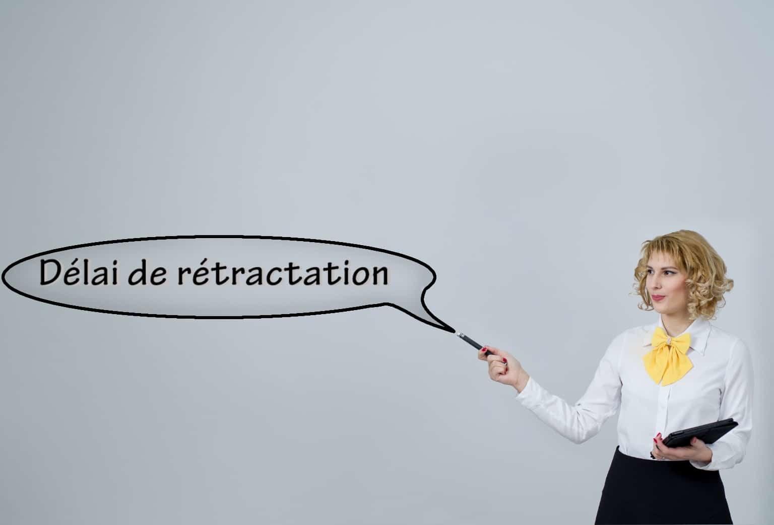 quel est le delai de retractation b to b