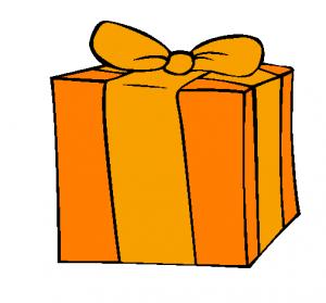 cadeau orange