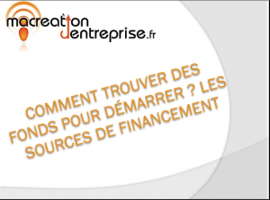financement creation entreprise