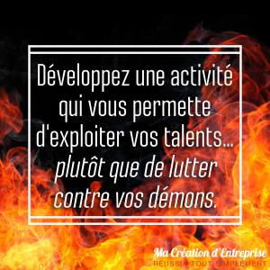 41 activité talents plutôt que lutter démons