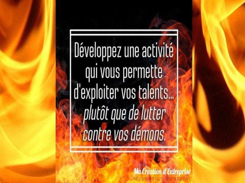 exploiter ses talents pour entreprendre