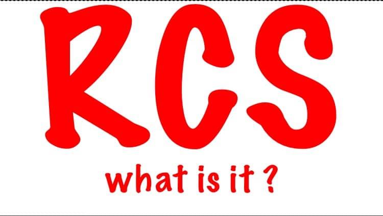 RCS définition