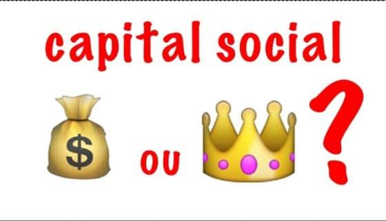 Capital social définition