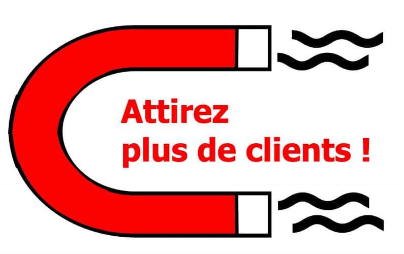 attirer client