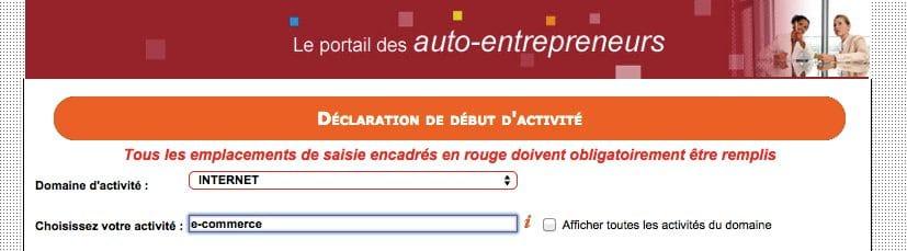 blog auto entrepreneur ecommerce