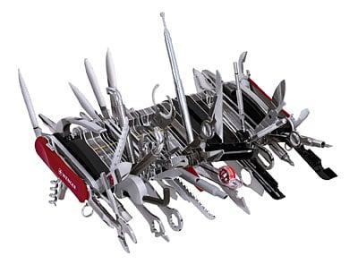 couteau suisse complexe