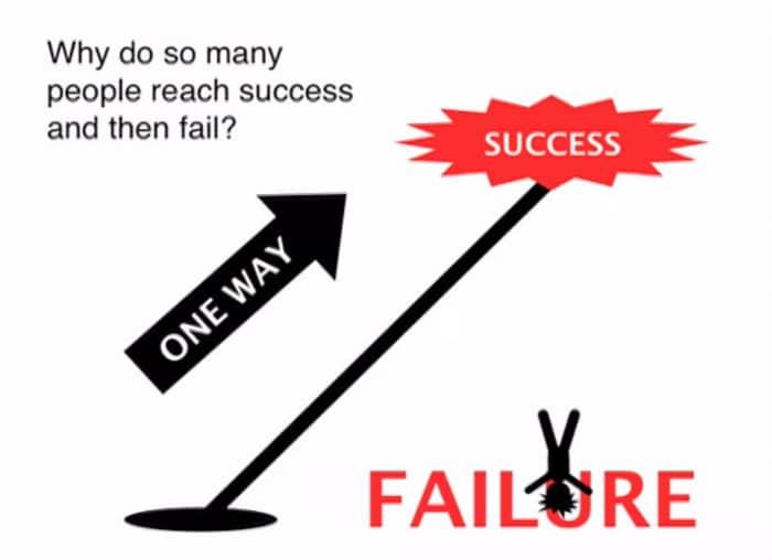 Pourquoi les gens se plantent quand ils ont réussi
