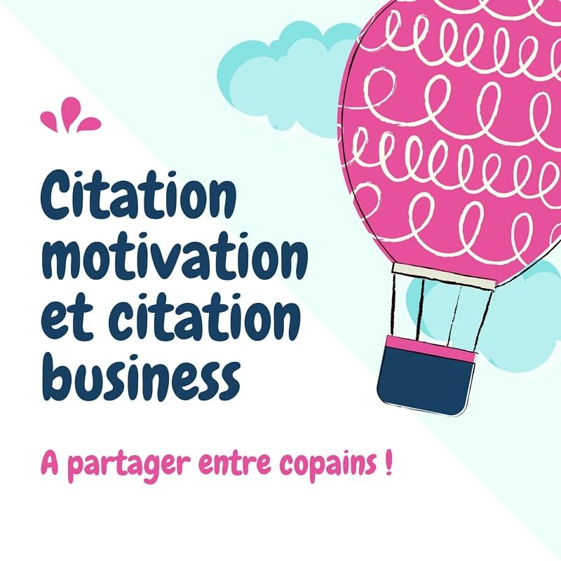 Citation motivation et Citation business