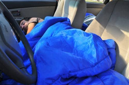 dormir voiture