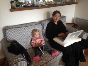 travail a domicile Antonella et Balkis