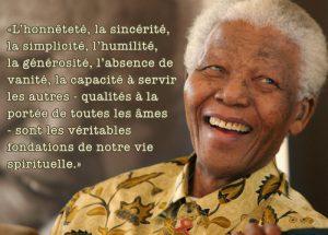 Nelson Mandela, Président de d'Afrique du Sud