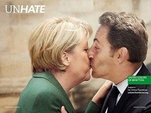 Benetton embrasse la cause pacifique