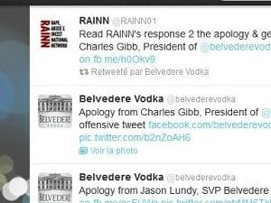 Belvedere Vodka, la goutte de trop
