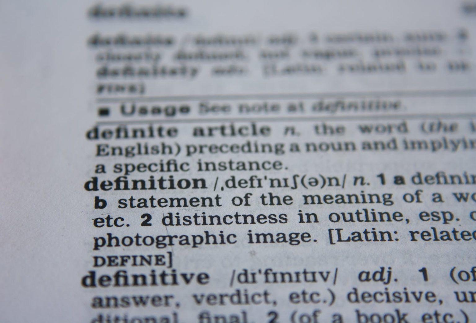 31 définitions : le jargon des entrepreneurs expliqué